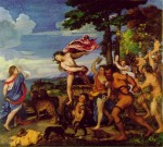Bacchaus and Andriane - Titian