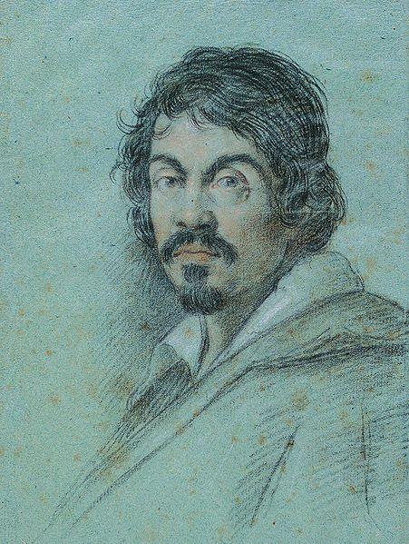 Caravaggio by Leoni Ottavio, 1621