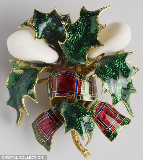 Tartan Ribbon with Baby Teeth