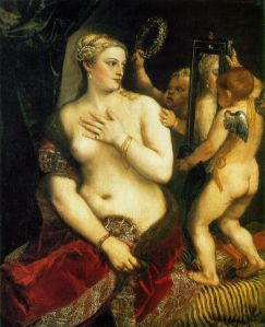 Venus with mirror -