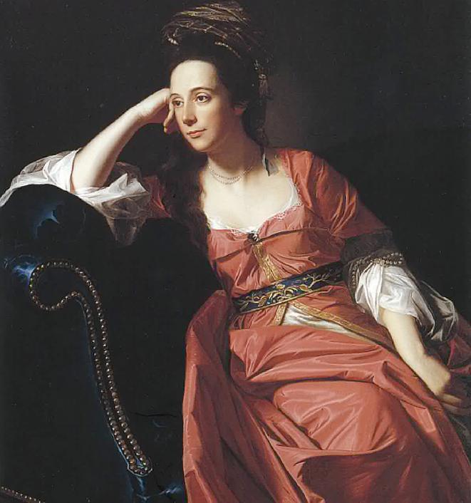 Mrs. Thomas Gage, John Singleton Copley, 1771
