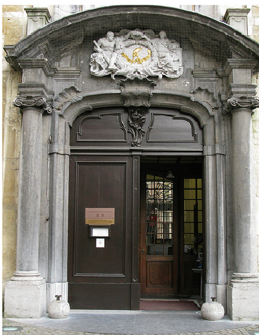 Entrance to Plantin Moretus Museum, Museum Monday, social media, museum experience, virtual tour