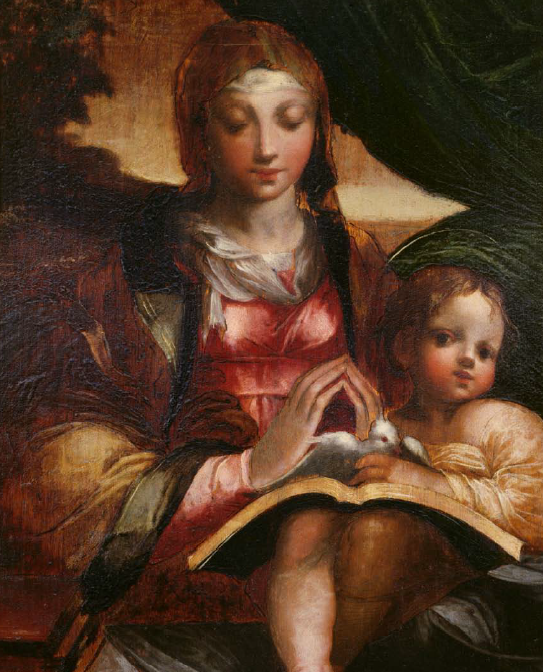 madonna and child with angels parmigianino - photo #12