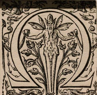 Illustration of Omega Symbol, Plantin Moretus Museum, Museum Monday, social media, virtual tour, museum experience.