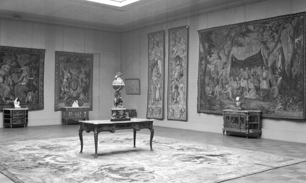 WWII, looted artwork, Monuments Men
