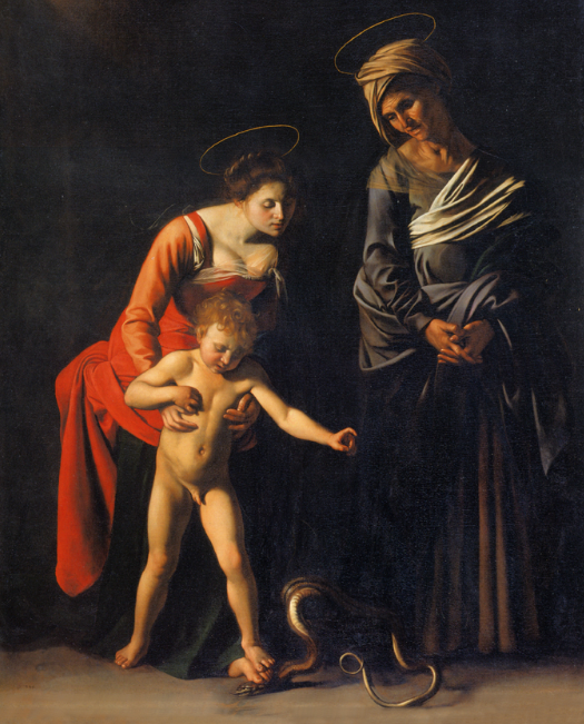 Madonna of the Grooms, Caravaggio