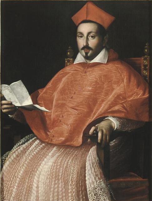 Scipione Borghese, Ottavio Leoni