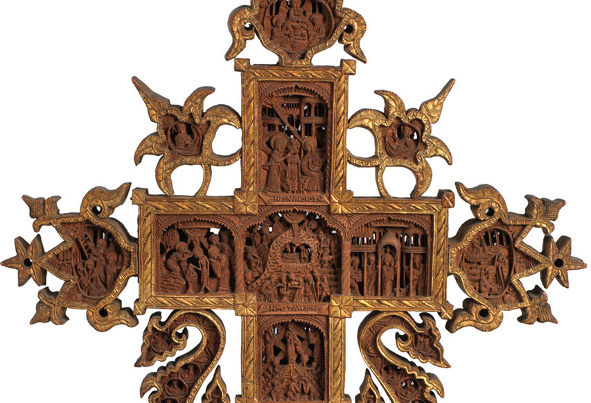 mount athos cross