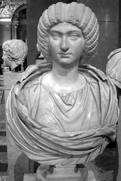 Roman Empress Julia Doman at the Walters Art Museum