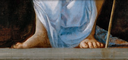 Risen Christ detail