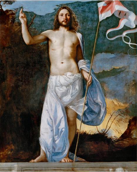 Risen Christ, Titian