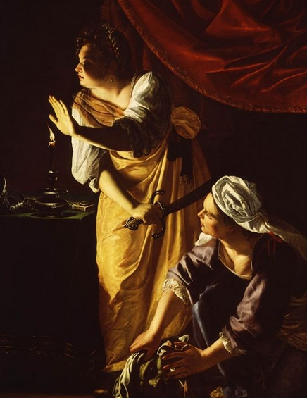Artemisia Gentileschi, Judith and Maidservant with the Head of Holofernes, 1623, The Detroit Institute of Arts