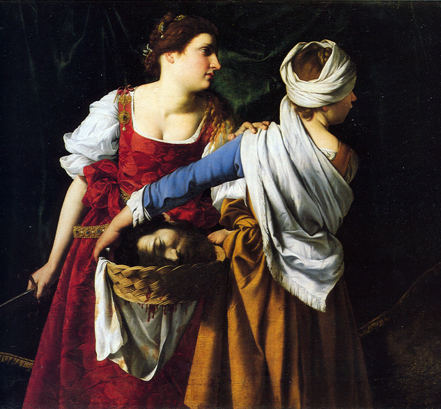Orazio Gentileschi, Judith and her Maidservant, 1608, Najonlmuseet for Kunst Oslo