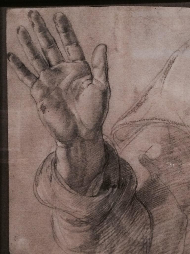 Raphael hand