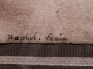 Raphael signature