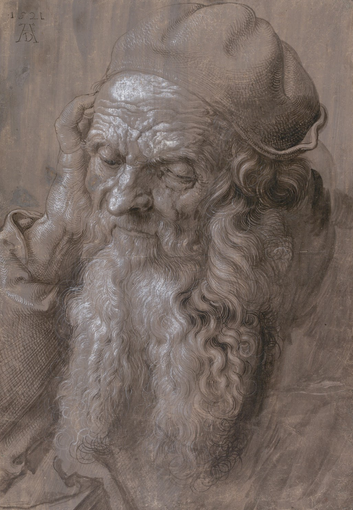 An Elderly Man of Ninety Three Years, Durer, 1521