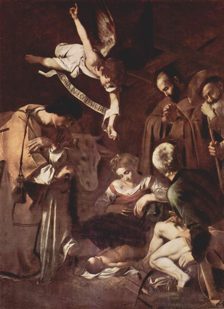 Nativity with Saints Lawrence and Francis