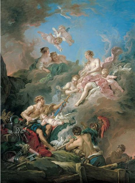 venus-at-vulcans-forge-francois-boucher