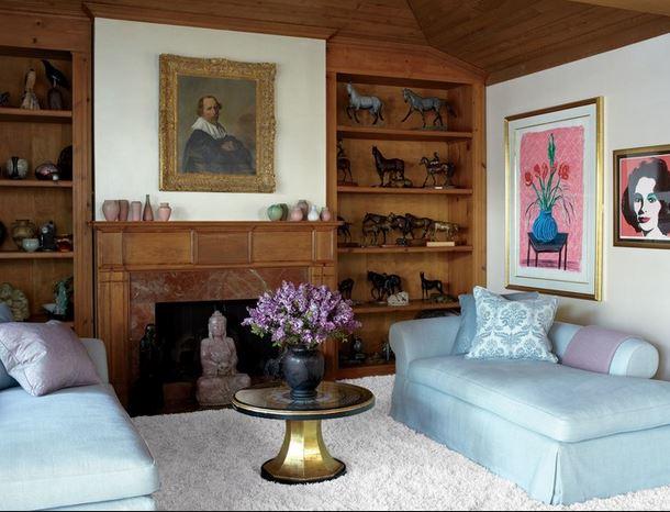 Elizabeth Taylor Living Room